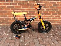 Boys 14'' Action Man Bike
