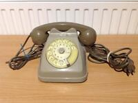 FATME ERICSSON RETRO VINTAGE TELEPHONE ROTARY DIAL WORKING