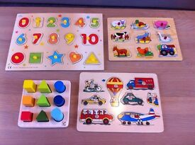 Selection of puzzles in great condition