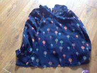 Sugarhill hot air balloon blouse size 10-12