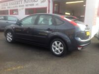 Ford Focus sport 1.6 DIESEL 2006 only 84000 miles PSH leaves with year MOT 5 door grey alloys