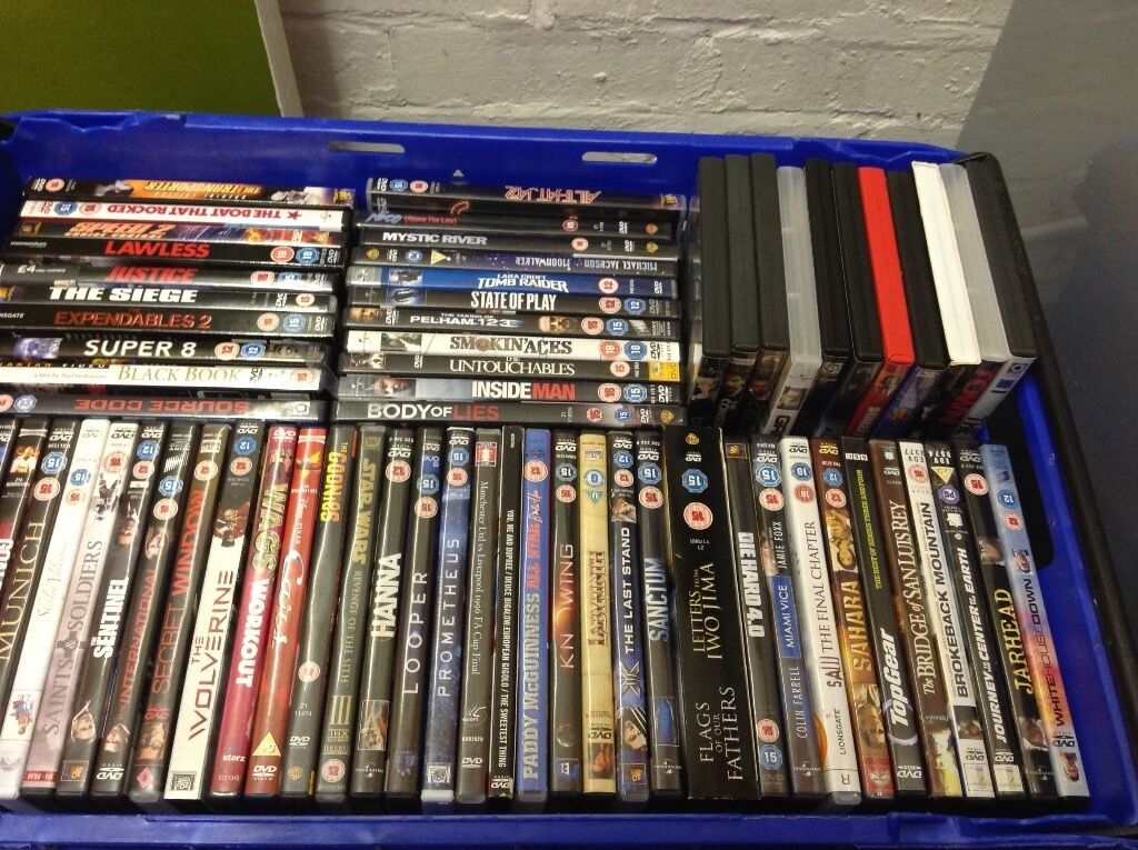 80 plus DVDs job lot