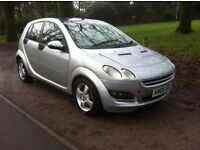 SMART FORFOUR 1.5 DIESEL, TOP SPEC 12 MONTHS MOT FULL LEATHER HEATED SEATS