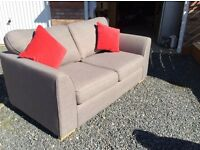 DFS Two Seater Sofa Bed.