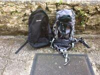 2 Berghaus backpacks