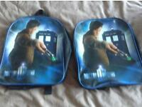 Dr who (Matt Smith) children's ruck sacks