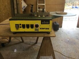 EBM KDP 106 edge taping machine,can be seen working.j