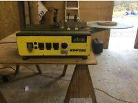 EBM KDP 106 edge taping machine,can be seen working.j