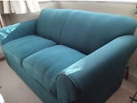 Habitat Green Sofa -excellent condition