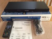 PANASONIC BLU-RAY/DVD PLAYER