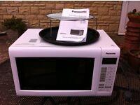 Panasonic Combination Oven Microwave (White)