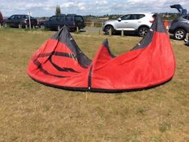 Kitesurfing kite