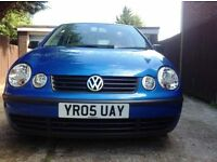2005 VW POLO* 5 DOOR HATCHBACK*F.S.H*GENUINE 81000 MILES*DRIVES WELL*HPI CLEAR