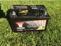 Yuasa YBX 3000 Battery as new