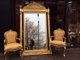 Fabulous large French style mirror