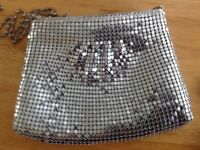 LADIES SILVER BAG