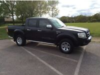 Ford Ranger Thunder 2009 2.5 TDCI Double Cab Pick Up, One Owner From New But Pre Registered, No VAT
