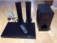Panasonic DVD player & surround sound
