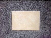 14 ceramic beige tiles