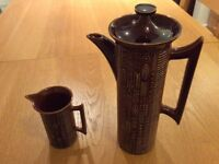Portmeirion Coffee Pot plus Milk Jug