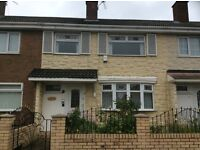 Recently refurbished 3 bedroom mid terraced house in Netherfields, Middelsbrough