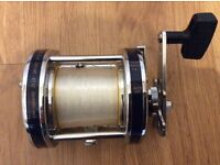Shakespeare boat rod and Fladen trolling reel.