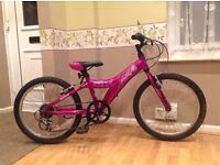 "Quality Giant lightweight aluminium girls bike 20"" wheels"