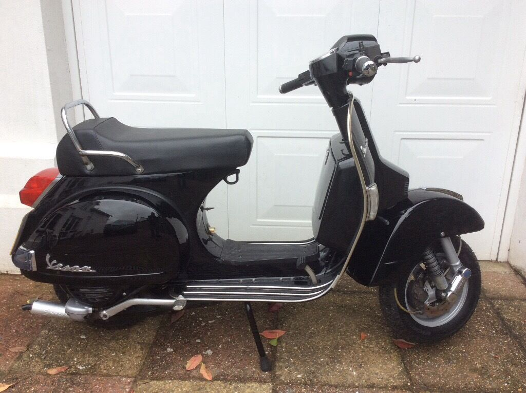 vespa px 125 2006 malossi 166 delivery good condition in. Black Bedroom Furniture Sets. Home Design Ideas