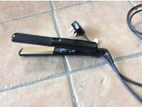 Babyliss wide style hair straightener, with long lead.