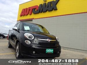 2015 Fiat 500 Lounge *Panoramic Sunroof/Leather/Navigation*
