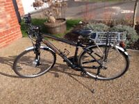 Electric bike (City/Trekking). Excellent condition. 1yr aftercare servgice @ Ebikesussex.
