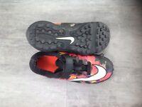 Kids original Nike CR7 Mercurial Astro-turf boots Uk size 13