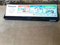 Panasonic Blu ray 3D DVD player plays all region DVD's with free hacking remote