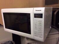 Panasonic Microwave NN-CT555W with 3 month warranty