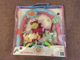 Mothercare buggy activity arch