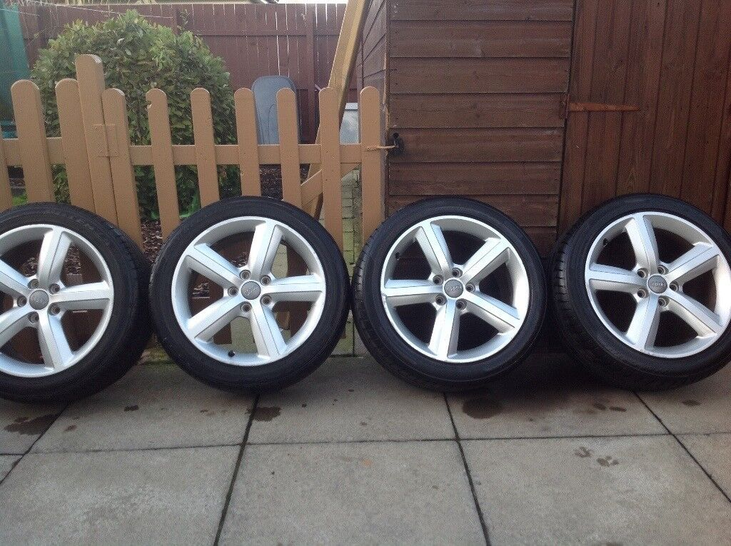 17 inch A3 Audi alloys great tyres