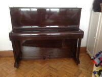 Piano - beautiful W.H. Barnes London including stool