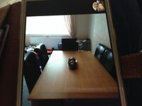 Oak Dining Table & 6 Chairs.