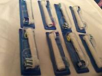 Oral-B replacement Brush. Pack of 2