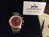Brand new Hindenburg 120H Airfighter men's watch
