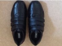 Brand new black school shoes - size 4