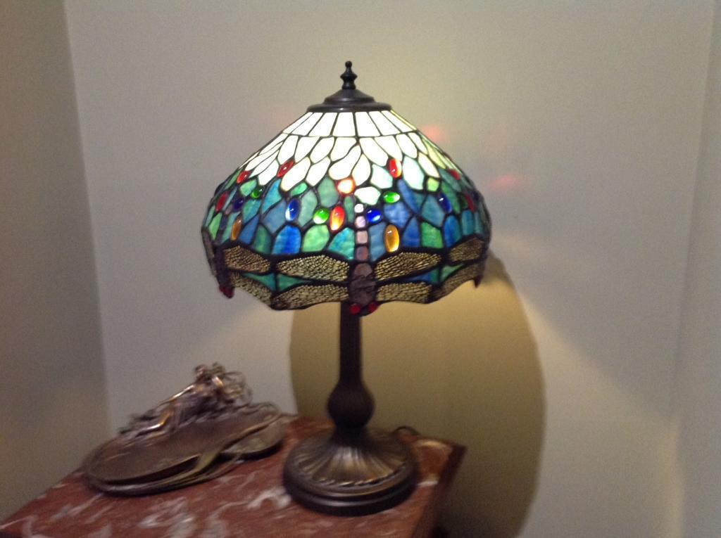 Dragonfly Tiffany Style Table Lamp In Cromer Norfolk Gumtree
