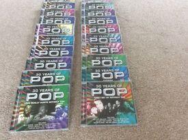20 CD's of 30 years of pop music