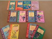 Ronald Dahl collection, 12 books in presentation sleeve all excellent condition.