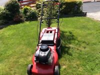 Mountfield Petrol Self-drive Lawnmower 19inch cut Briggs&Stratton 450 series Easy starter good going