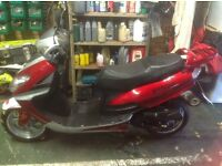 SOLD SOLD SOLD Benda bd50qt-15, 49cc moped mot till sept 2017 (throttle cable replaced)