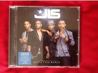 JLS outta this world signed cd