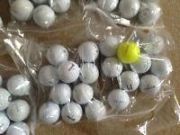 100 Very Good condition : Srixon, Pro-Vs, Callaway, Taylormade 10 per bag £2.50 each