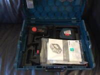 Used gll250 professional laser in Bosch carry case,