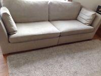 Ikea Stockholm 3.5 seater sofa in Beige